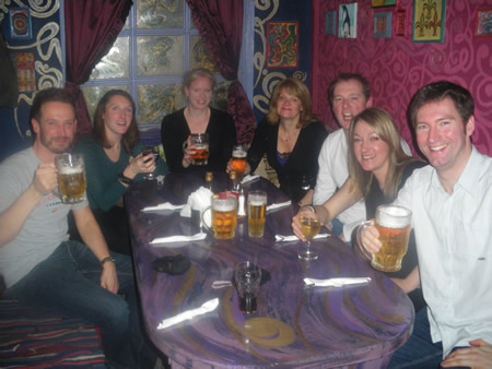 Social Circle, Attend a pub crawl in Manchester