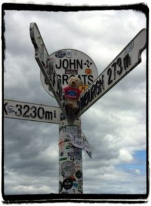 Ticking off the Bucket list at John O Groats!