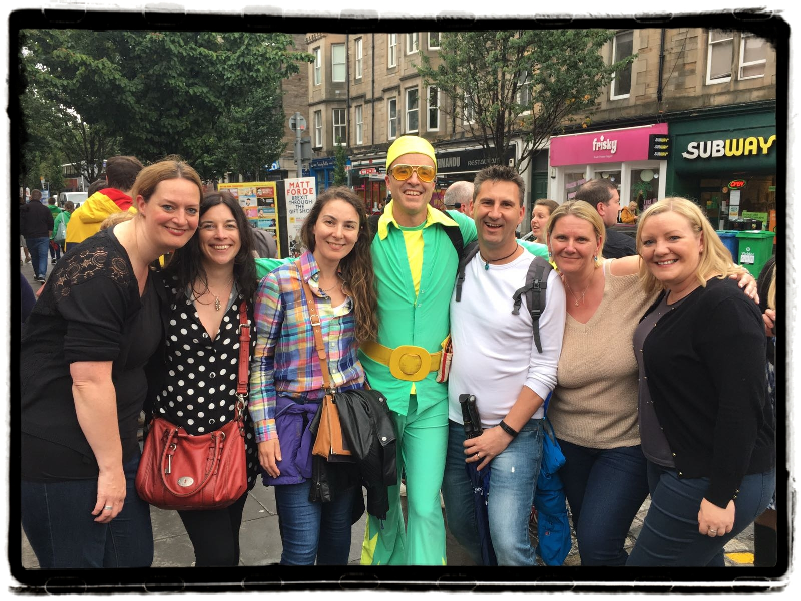 Social Circle @ Edinburgh Festival 2018.