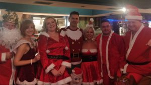 Just some of the Social Circle Santas taking Manchester by storm