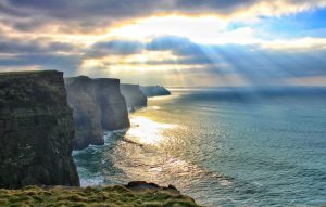 The Cliffs of Moher are breathtaking