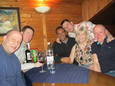 Manchester Group Holidays Skiing in Bulgaria 2011