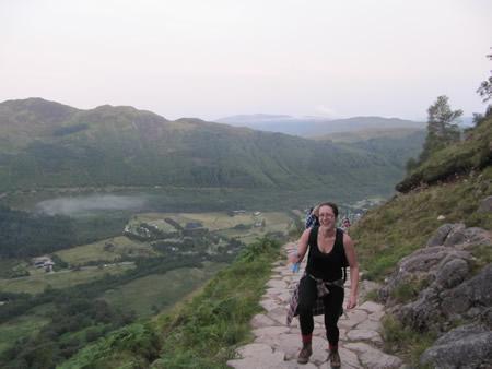 Manchester Adventure Weekends Three Peaks Challenge 2011
