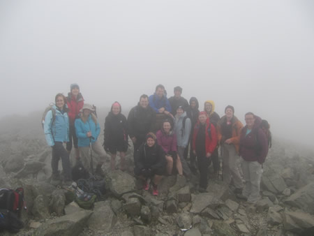 Manchester Adventure Weekends Three Peaks Challenge 2011