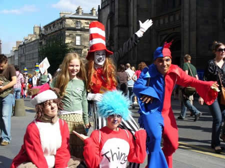 Manchester travel Edinburgh Fringe Festival