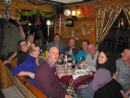 Manchester Group Holidays Skiing Borovets Bulgaria 2012