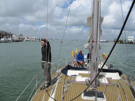 Manchester activities sailing