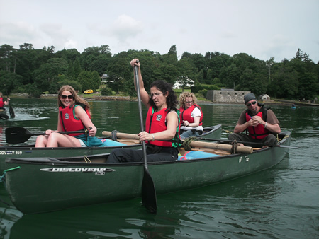 Manchester Activities - Canoeing