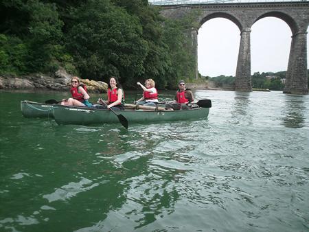Manchester Activities - Canoeing