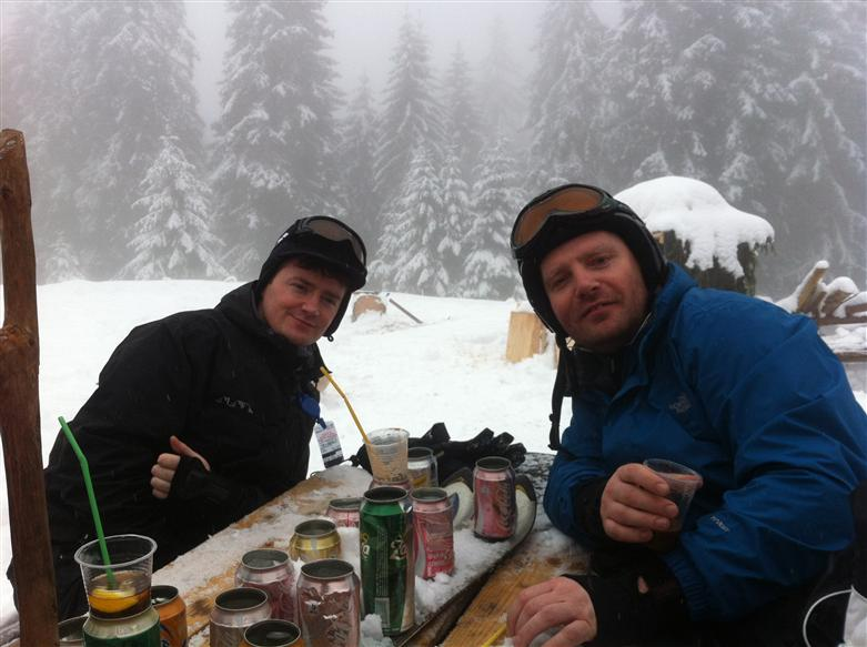 Manchester skiing trip