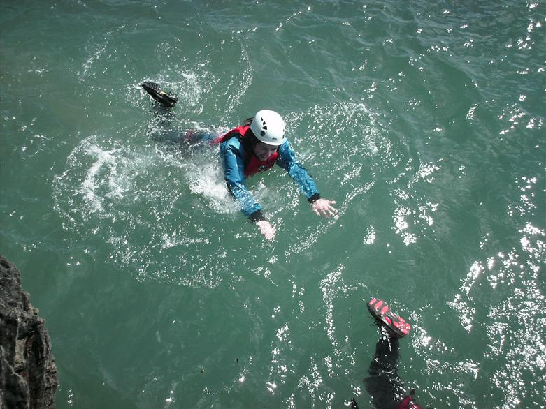 Manchester activities coasteering