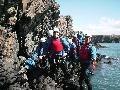 Manchester activities coasteering