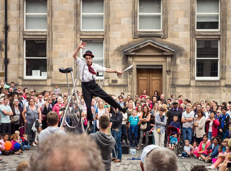 Manchester weekends away Edinburgh Fringe