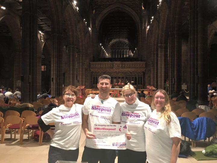 events manchester sleepout