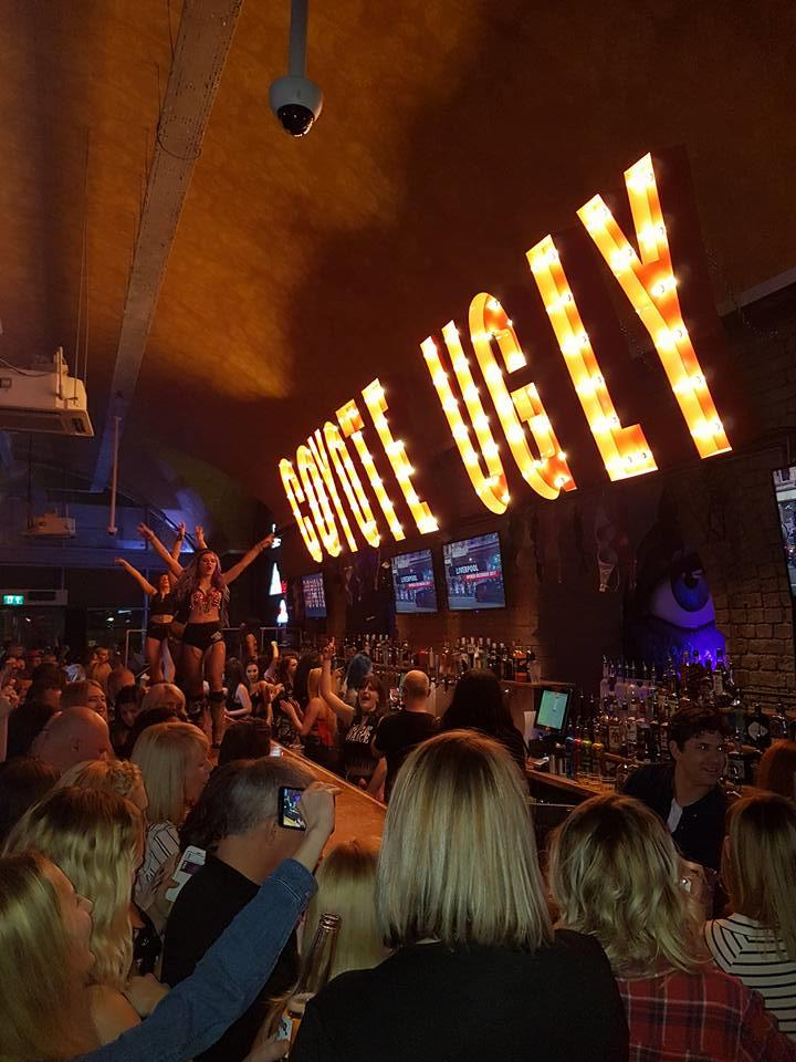 Manchester social events Coyote Ugly