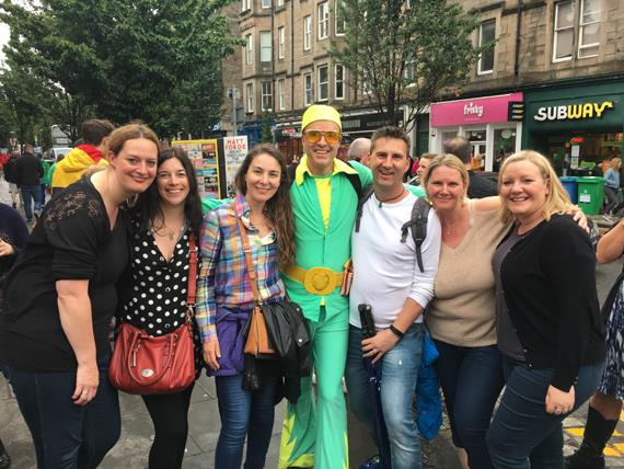 Edinburgh Fringe. Edinburgh Fringe 2018. 1