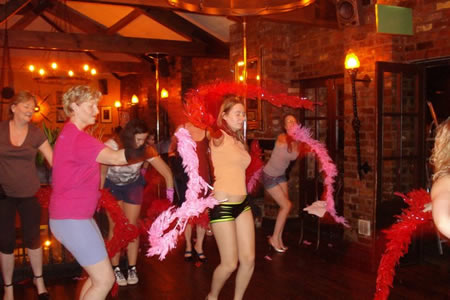 Burlesque lessons at Social Circle
