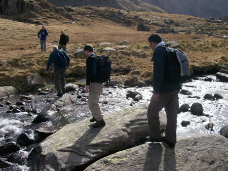 Manchester Walking Club on Snowdon Walk