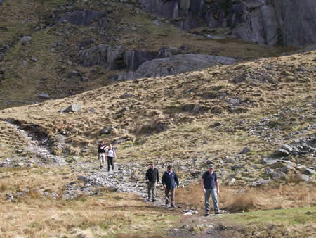 Manchester Walking Clubs on Snowdon Walk