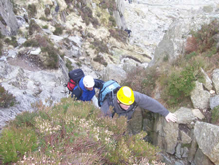 Manchester Mountain Scrambling